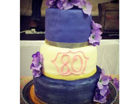 Stacked Fondant Birthday Cake – The battle continues