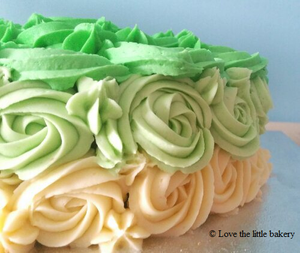 I loveeeeeee this ombre cake :)