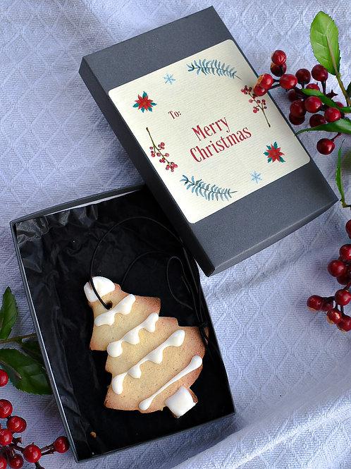 Christmas Tree Ornament Cookie
