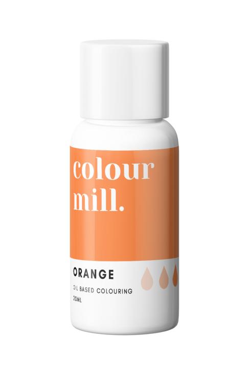 Orange Oil Based Food Colouring 20ml