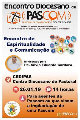 PASCOM DIOCESANA ENCONTRO DE ESPIRITUALI