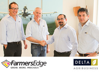 Precision Agriculture Pioneer Farmers Edge Enters Australia's New South Wales with Partner, Delta Ag