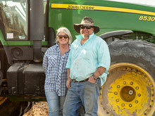 ROWENA'S SHINING LIGHT - A bright future in agriculture for Radford family