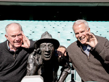 Behind the mic with legendary sports commentators Jim Maxwell AM and Gordon Bray AM