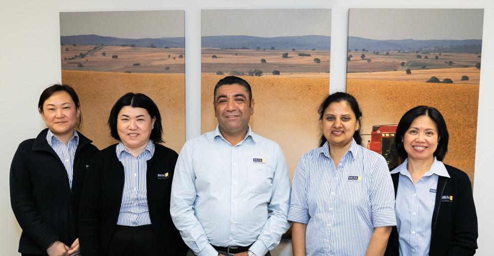 Jan Guo, Sharon Gock, Manjit Bhaur, Shruthi Rao & Robbi Calfoforo