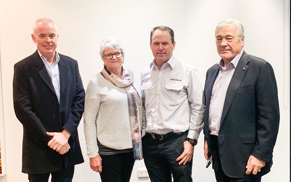 Gerard Hines - Delta Ag Managering Director, Judy & Steve Cameron - North West Ag Services, Doug Rathbone – Delta Ag  Chairman