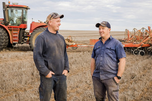 SOWING SUCCESS - How changing seasons are a driving force for growth for the Hallam family