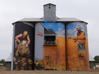 Silo Art - A blank canvas with grand proportions