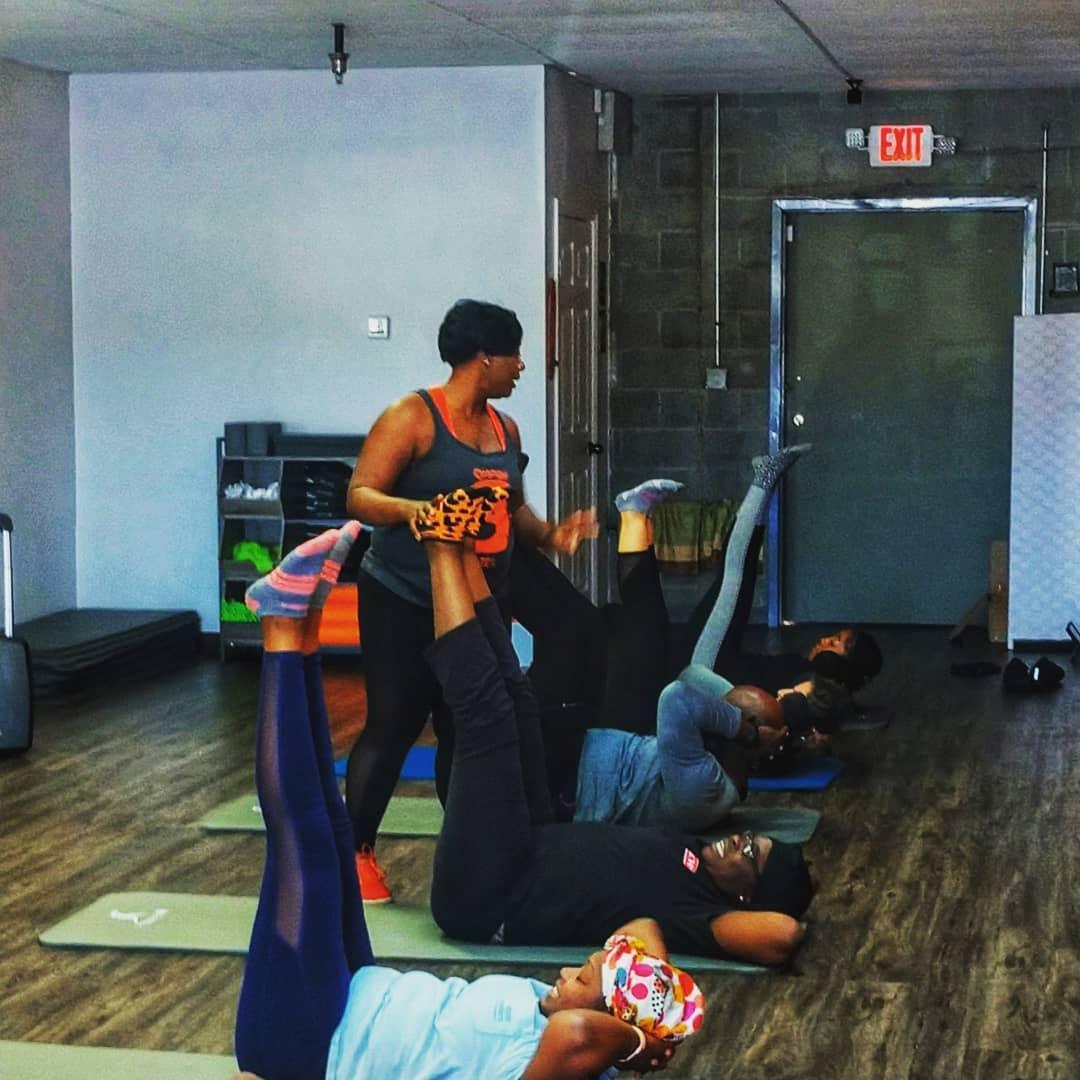 Online Group Pilates Core