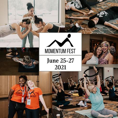 Momentum Fest-Orange Groove Pilates Studio