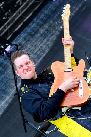 Der Mann und die Gitarre