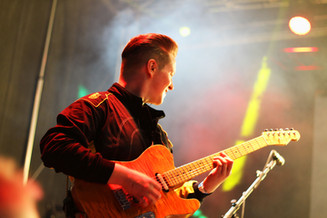 Guitar Man im Profil