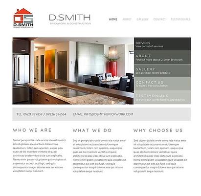 Builders Website Design