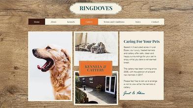 Kennel & Cattery Website Design