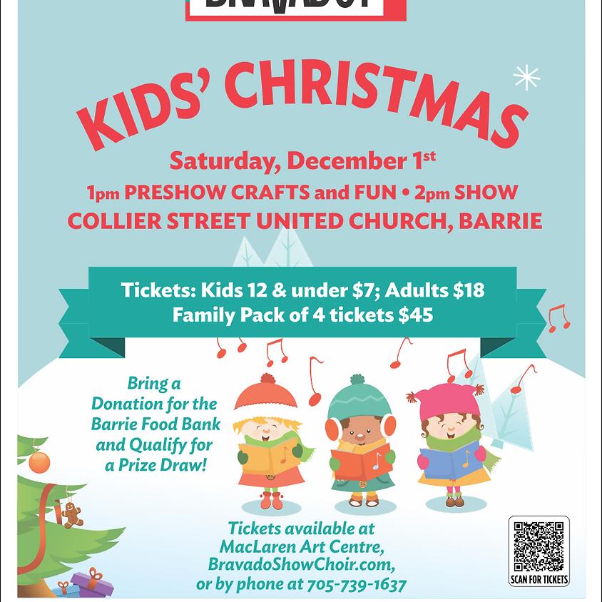 Bravado's Christmastravaganza! Kid's Special Matinee Performance! (Crafts & Activities at 1pm, Matinee at 2pm)