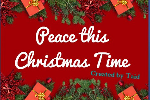 Royalty-Free - Peace This Christmas Time