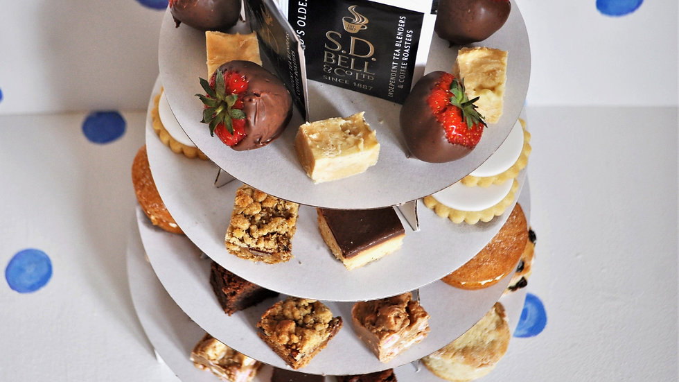 Sweet Afternoon Tea for Two, Three or Four - Local Delivery  Prices From