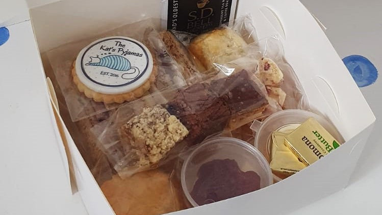 Individual Afternoon Tea Box - Local Delivery or Collection Only
