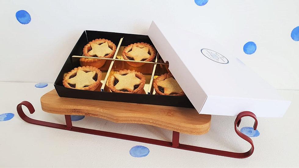 Christmas Luxury Box of 6 Mince Pies