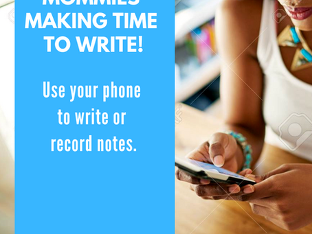 How to use your phone to write