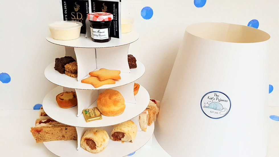 Afternoon Tea for Two. Local Delivery Only