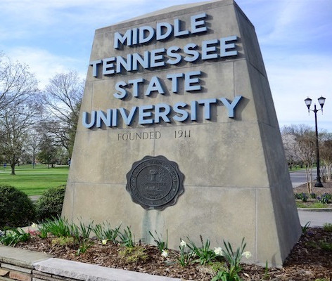 MA in American History from MTSU