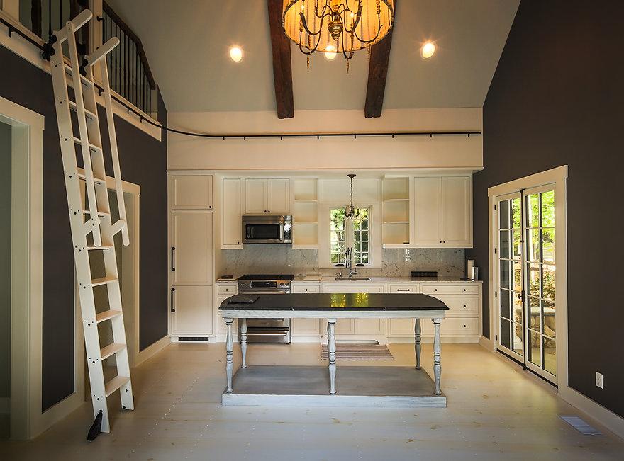 Z+ Architects Stone Pool House