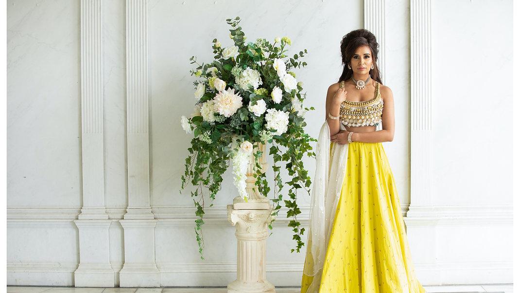 Mehendi Lehenga and Indian Bridal outfit
