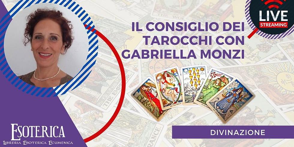 IL CONSIGLIO DEI TAROCCHI DI GIUGNO. Live Fcebook con Gabriella Monzi