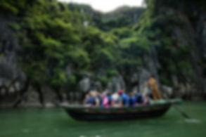 Peony Bamboo Boat