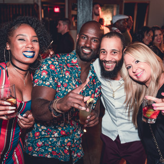 Friends at Stratus Lounge 2018