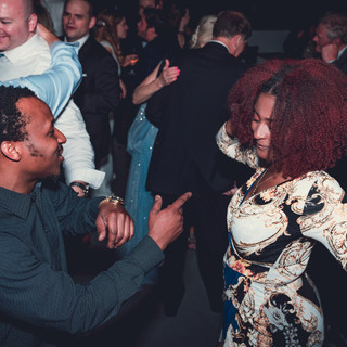 Dancing couple at Stratus Lounge 2018