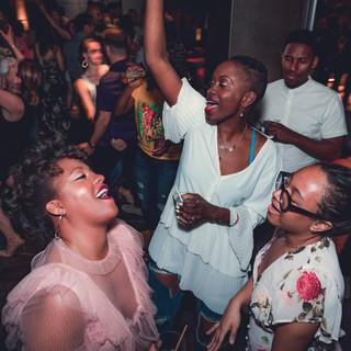 Ladies Dancing at Stratus lounge 2018