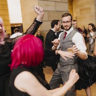 Dancing Crowd 2 @ Philly Art Museum