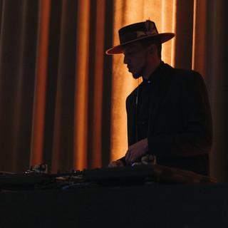 DJ Royale medium shot