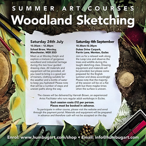 Woodland Sketching Day Two