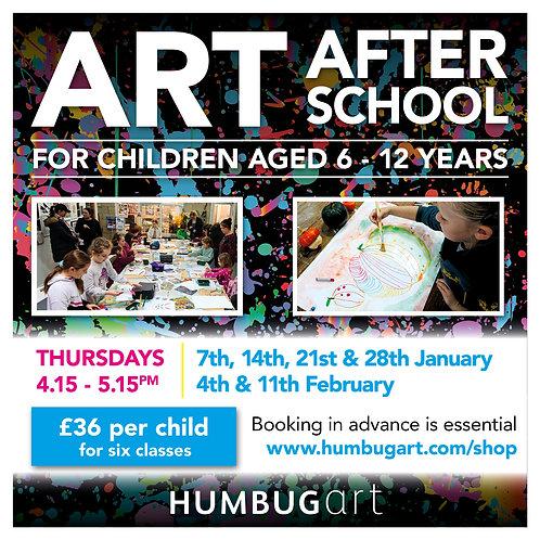 Art After School Online X1 child
