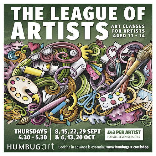 The League of Artists, 11-14yrs