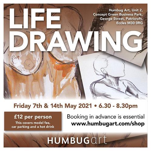 Life Drawing 07/05/21