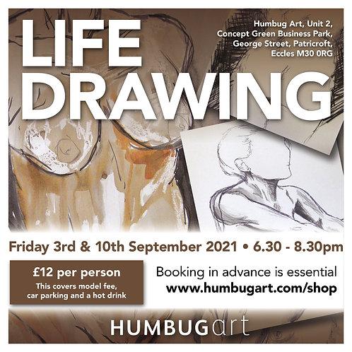 Life Drawing 03/09/21