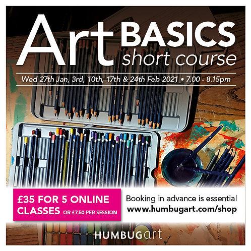 Art Basics Online single lesson