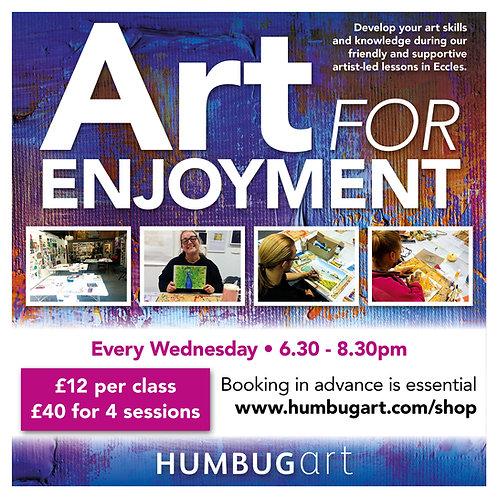 Art for Enjoyment: Four classes