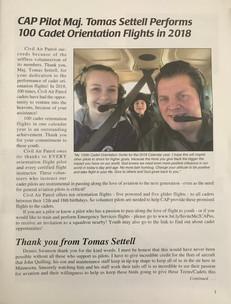 112 Cadet Orientation Flights