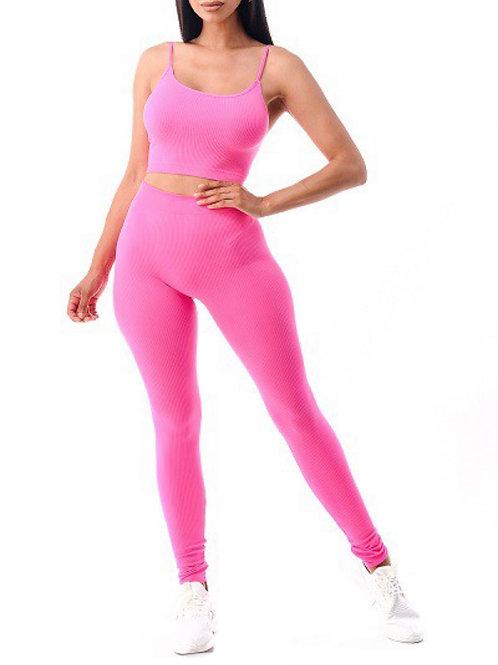 Jayda set Hot pink