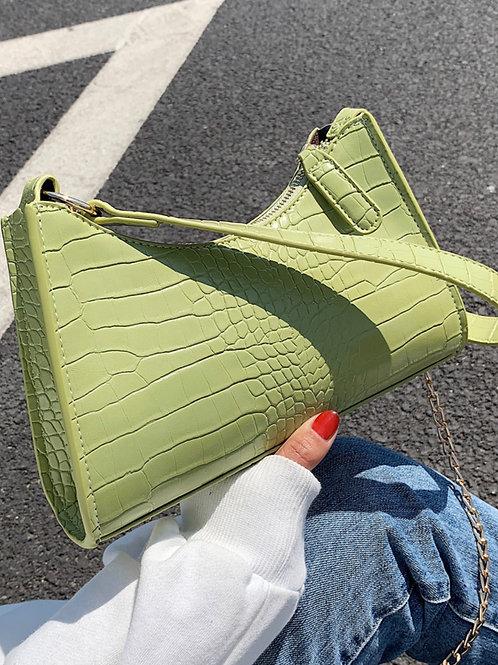 Lime  purse
