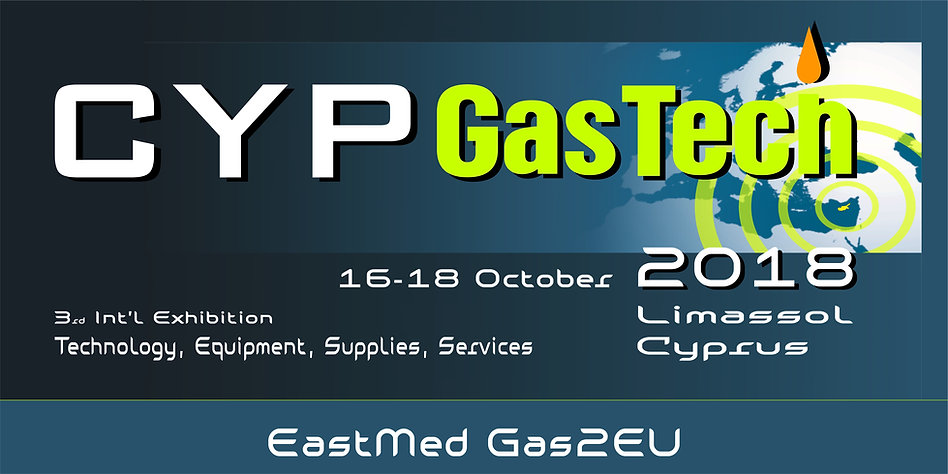 Cyprus Oil Gas Conference & Exhibition 2018, EastMed, #cypgastech