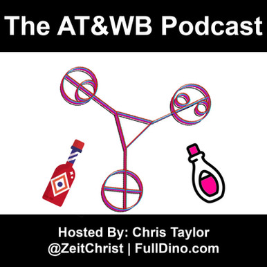 AT&WB Podcast - Episode 35 - CW Network Dramas - Roswell New Mexico - The Roswell Multiverse - P