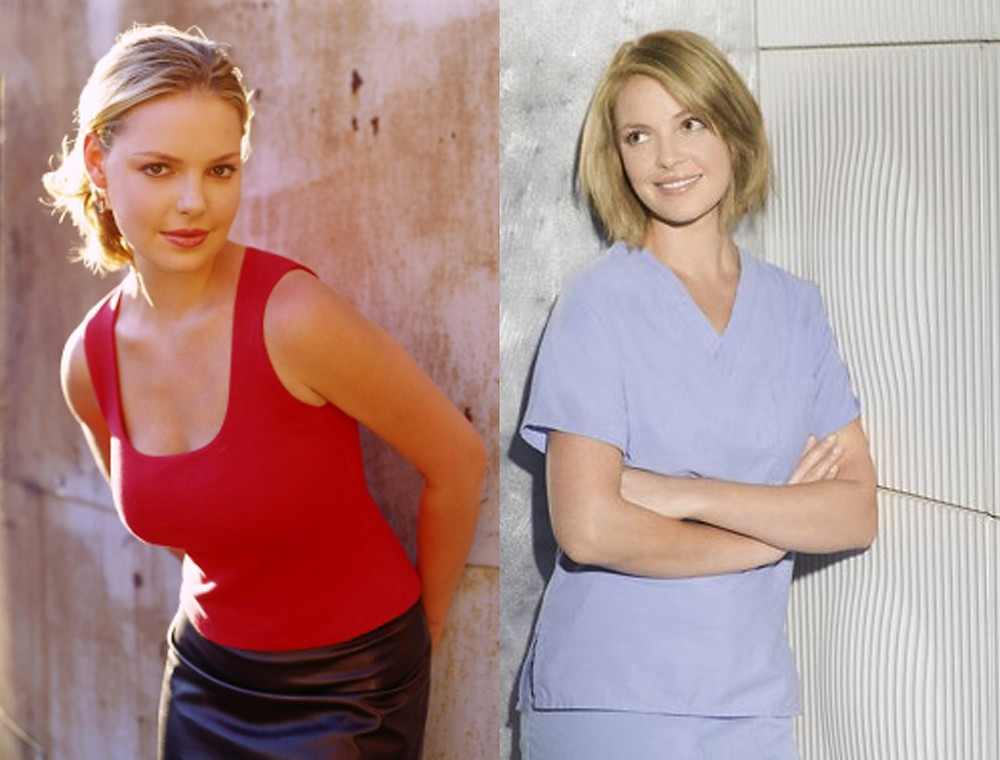 Most know Katherine Heigl from ABC's Grey's Anatomy, where she played Dr. Isobel 'Izzie' Stevens.  Teenagers during Y2K may remember Heigl on The WB show Roswell where she played alien Isabel 'Issie' Evans.  Are both Izzie's the same character?
