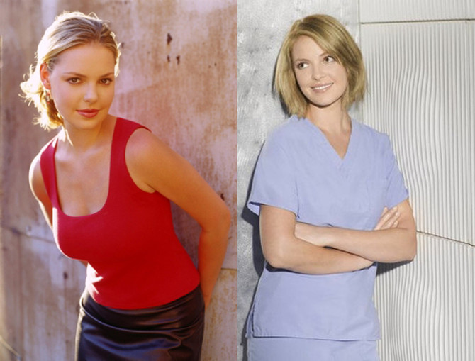 6 Reasons Katherine Heigl Played the Same Character on Roswell and Grey's Anatomy
