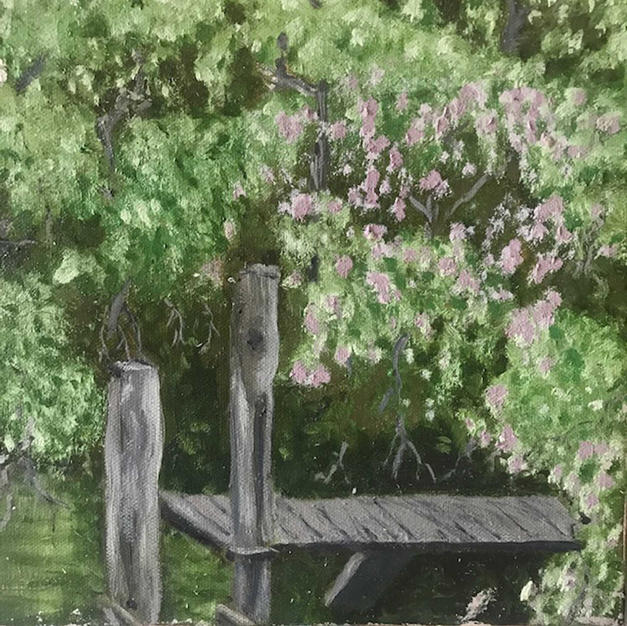 """Dock At Horse Cove Pond"""